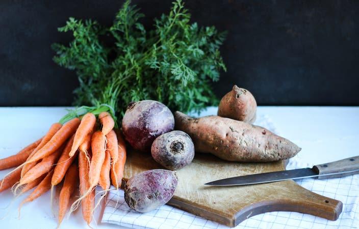 Cut Root Vegetables