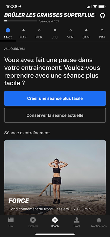 short break screenshot - fr