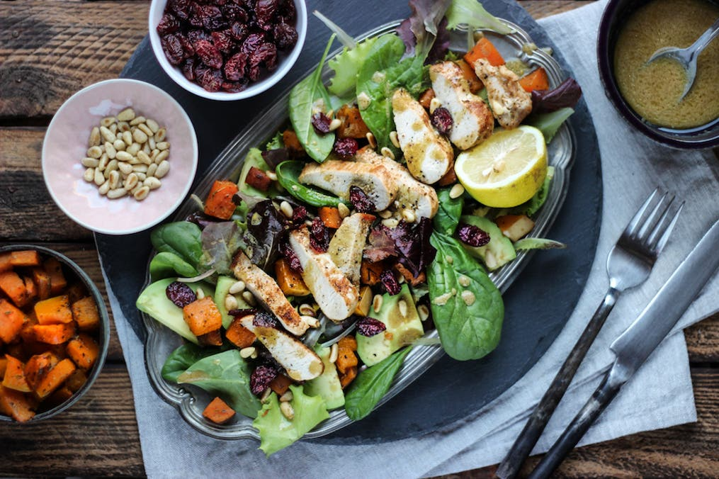Cut Turkey Salad