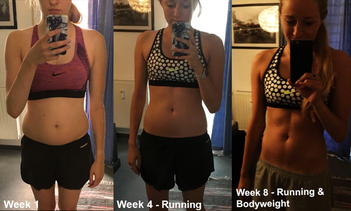 progress week 0-8