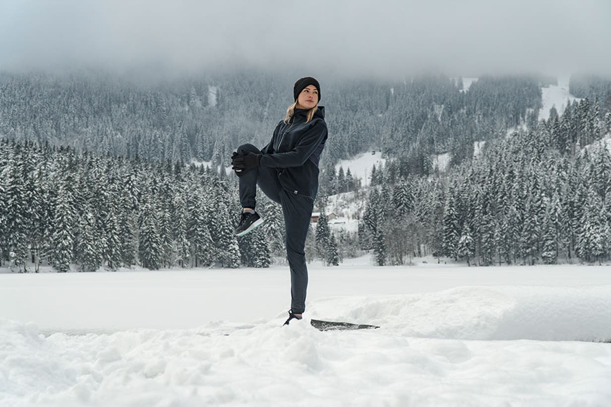 Exercises for skiing and snowboarding