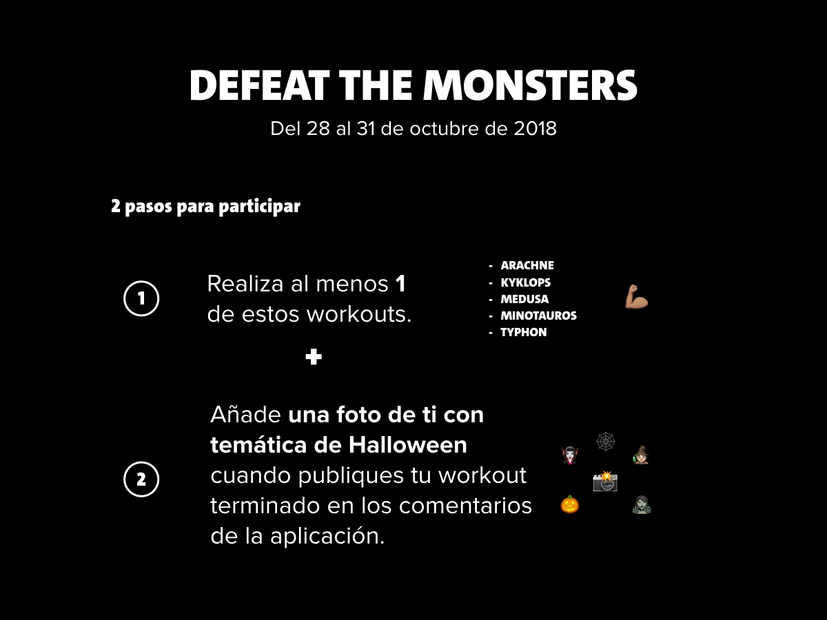 defeat the monsters ES