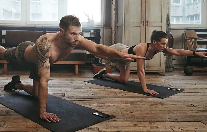 Mini allenamenti fatti in casa