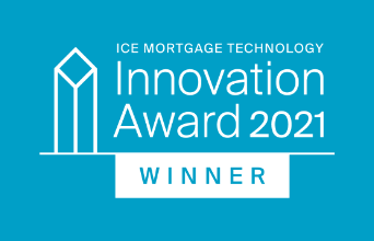 Congratulations to the 2021 ICE Mortgage Technology Innovation Award Winner...