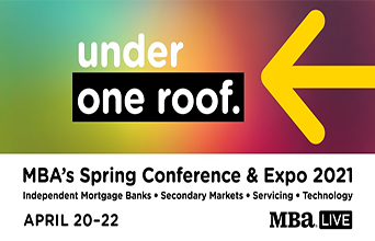 ICE Mortgage Technology Sponsors 2021 MBA Spring Conference and Expo