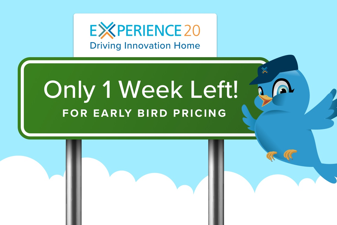 5 Reasons to Register for Experience 2020 by January 24