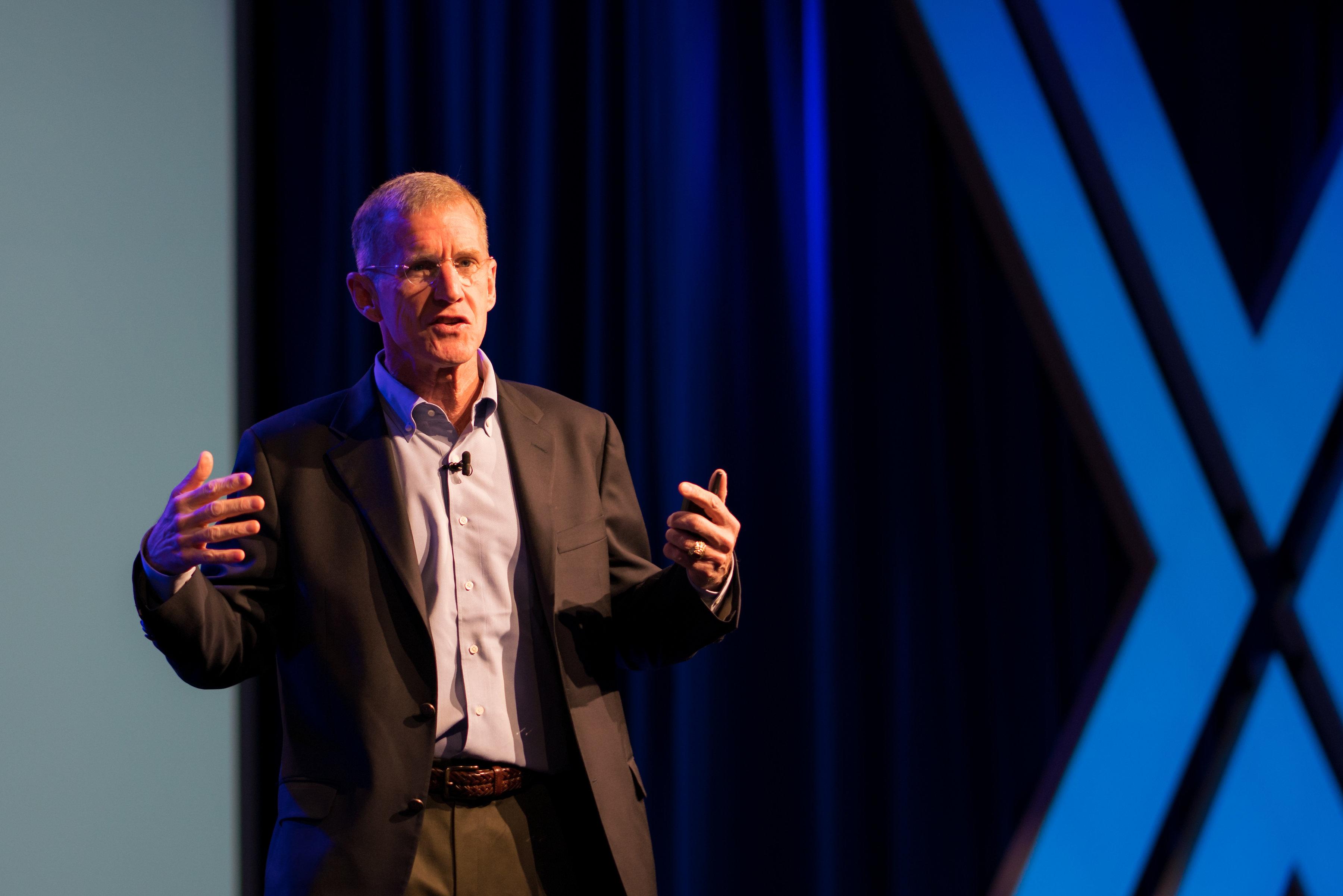General Stanley McChrystal Talks Leadership With #EXP18 Attendees