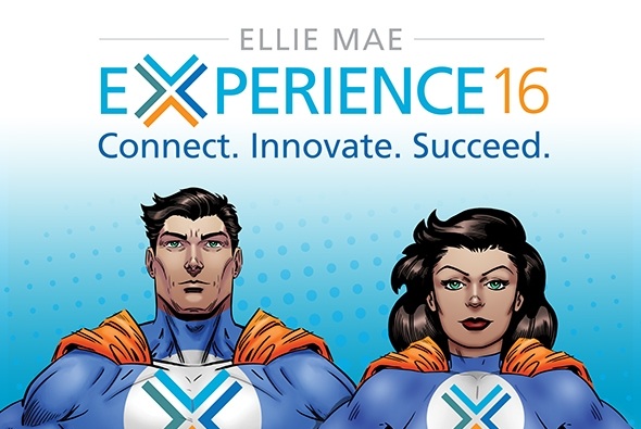 Ellie Mae Experience 2016: Our Super Heroes Unite!