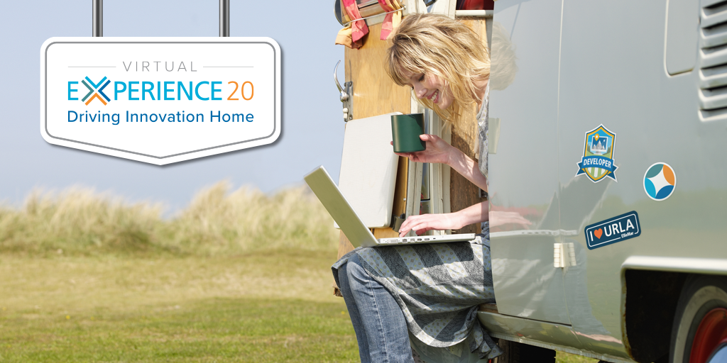 Don't miss Virtual Experience 2020