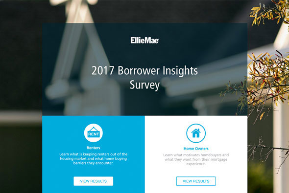 Introducing the First Annual Ellie Mae Borrower Insights Survey