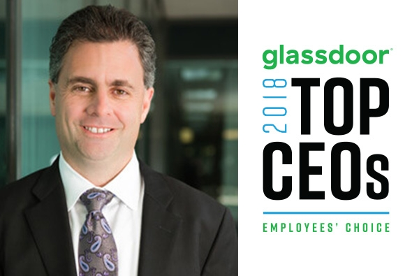 Glassdoor Names Jonathan Corr a Top CEO