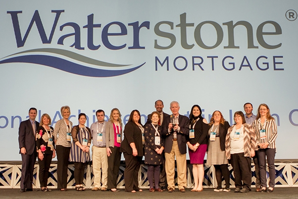 Ellie Mae Hall of Fame Awards: Waterstone Mortgage Corporation