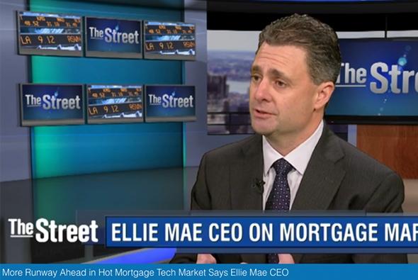 Jonathan talks Ellie Mae growth with TheStreet.com