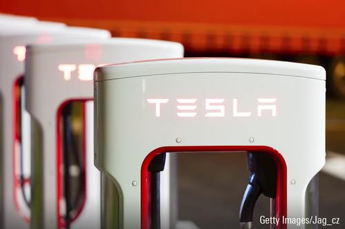 Tesla Supercharger 3x2