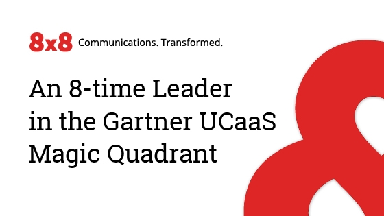An 8-time Leader in the Gartner UCaaS Magic Quadrant