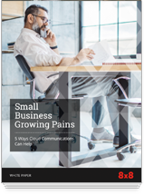 8x8 White Paper - Small Business Growing Pains