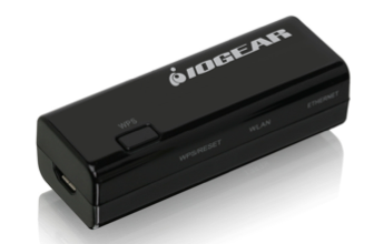 IOGEAR Universal Wi-Fi N Transmitter- Ethernet to Wi-Fi N 300Mbps
