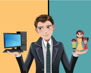 Business VoIP helps with juggling career and family.