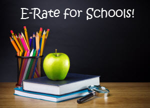 E-Rate phone service for schools