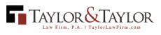 Taylor & Taylor Law Firm Logo
