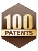 100 Patents Logo