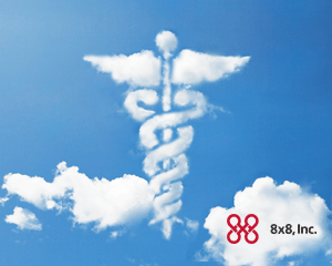 Business Phone Service: HIPAA symbol in cloud