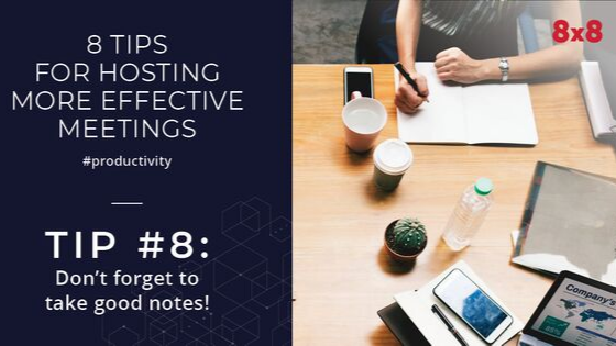 8 Tips for hosting more effective meetings