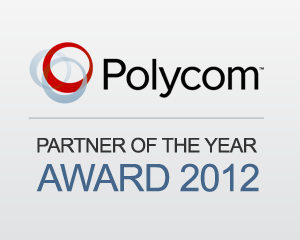 8x8 Wins Polycom Partner of the Year Award