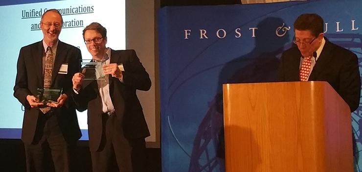 2015 Frost & Sullivan CIO Impact Award