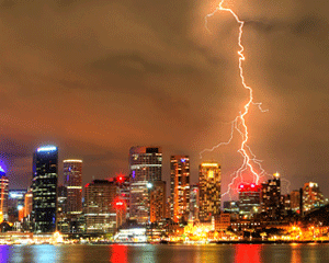 Lightning can damage old PBX systems