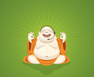 Call center software: Zendesk buddha
