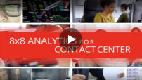 8x8 Analytics for Contact Center