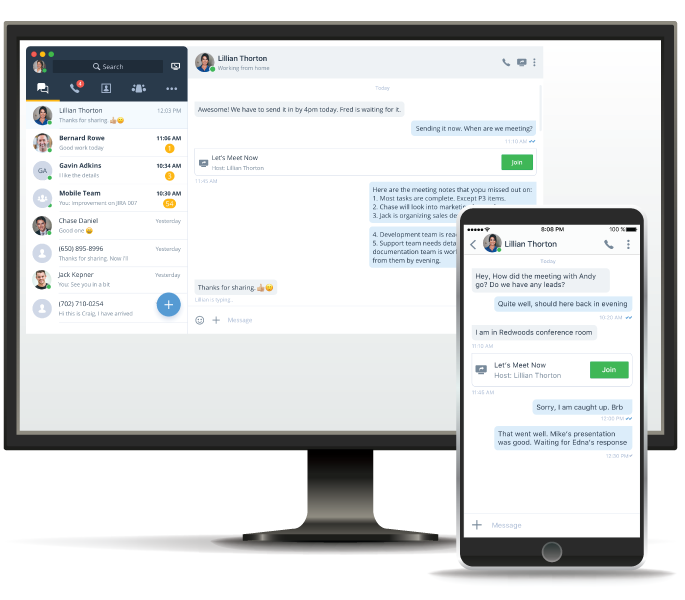VoIP Chat, Instant Messaging | 8x8, Inc