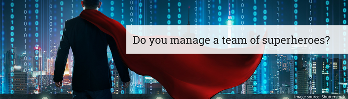 Do you manage a team of superheroes?