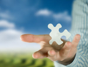 Call center software: puzzle piece in the cloud