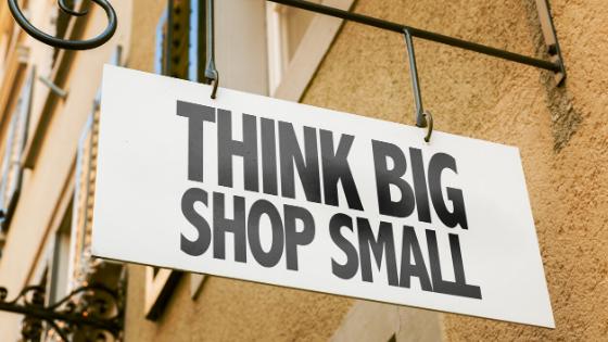 Think Big. Shop Small.