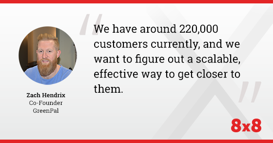 We have around 220,000 customers currently, and we want to figure out a scalable, effective way to get closer to them.