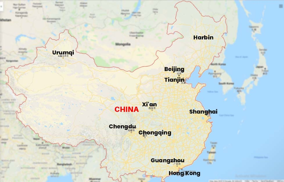 How to call China from the US