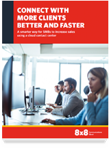 How SMBs increase sales with a cloud contact center - white paper