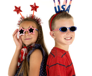 Business VoIP: Kids ready for 4th of July