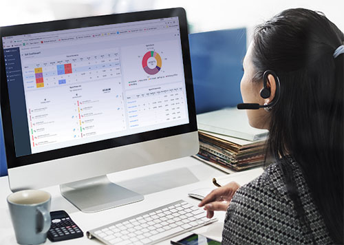 Advanced contact center features