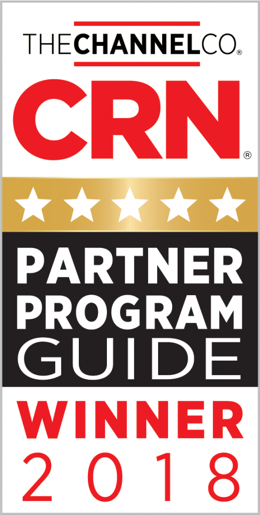 CRN 2018 Partner Program Guide Winner