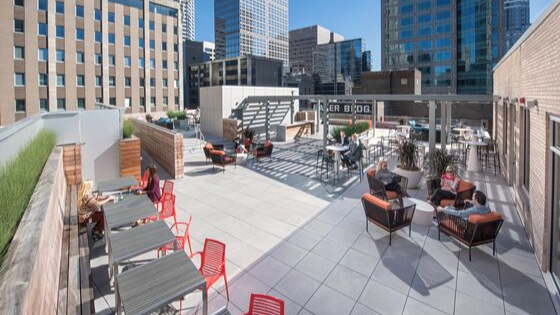 Our new Minneapolis office rooftop