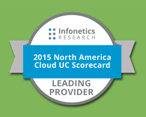 Infonetics #1 Cloud UC Provider