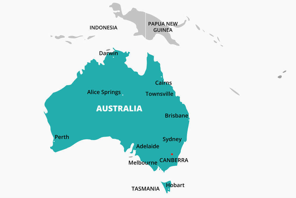 How to call Australia from the US