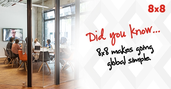 Did you know? 8x8 makes going global simple.