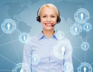 Smart, friendly human customer service rep