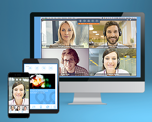 Virtual Office Meetings web & video collaboration