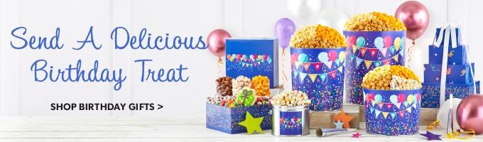 Birthday Popcorn Gifts & Snacks