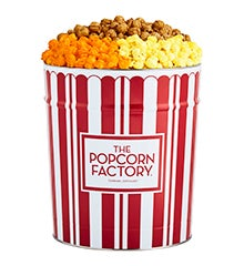 TPF Retro Popcorn Tins